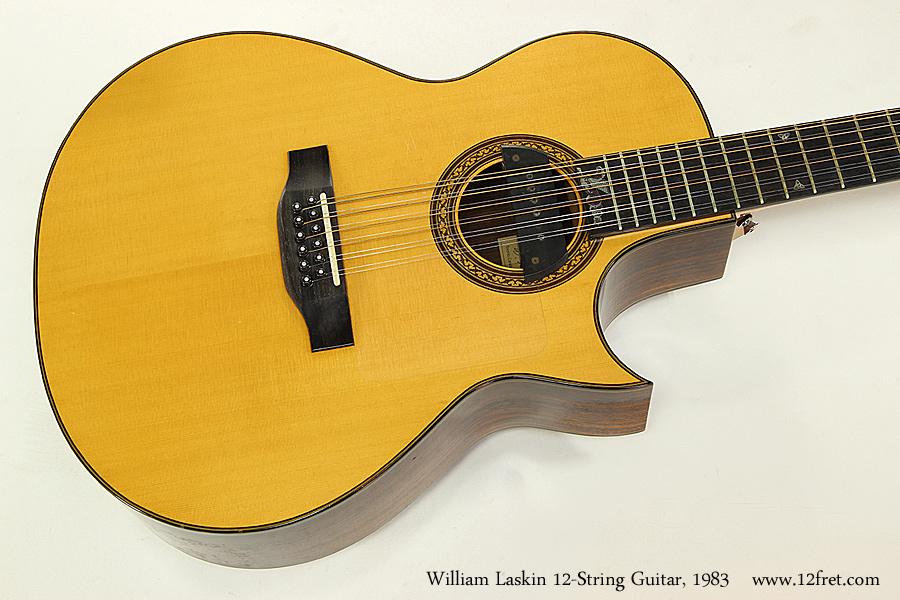 William Laskin 12-String Guitar, 1983 Top View