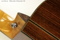 William Laskin 12-String Guitar, 1983 Heel View