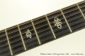 William Laskin 12-String Guitar, 1983 Fingerboard Inlays Positions 5 and 7