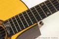 William Laskin 12-String Guitar, 1983 Fingerboard Tag View