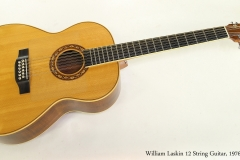 William Laskin 12 String Guitar, 1976 Full Front View