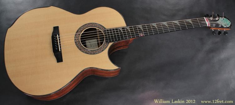 William Laskin Art Deco Guitar 2012 full front view