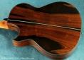 William Laskin Art Deco Guitar 2012 back