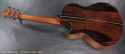 William Laskin Art Deco Guitar 2012 full rear view