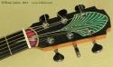 William Laskin Art Deco Guitar 2012 head front view