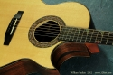 William Laskin Art Deco Guitar 2012 top detail