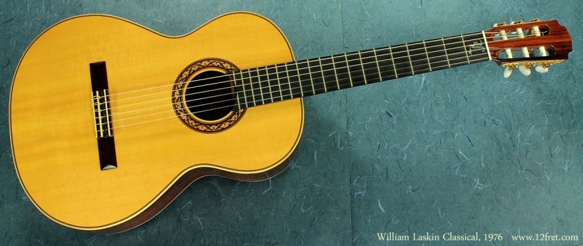 William Laskin Classical 1976 full front
