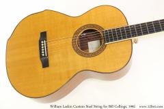 William Laskin Custom Steel String for Bill Collings, 1992 Top View