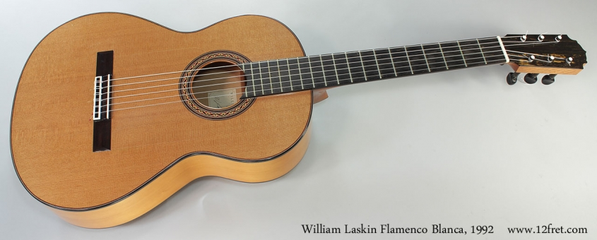 William Laskin Flamenco Blanca, 1992 Full Front View