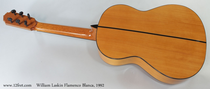 William Laskin Flamenco Blanca, 1992 Full Rear View