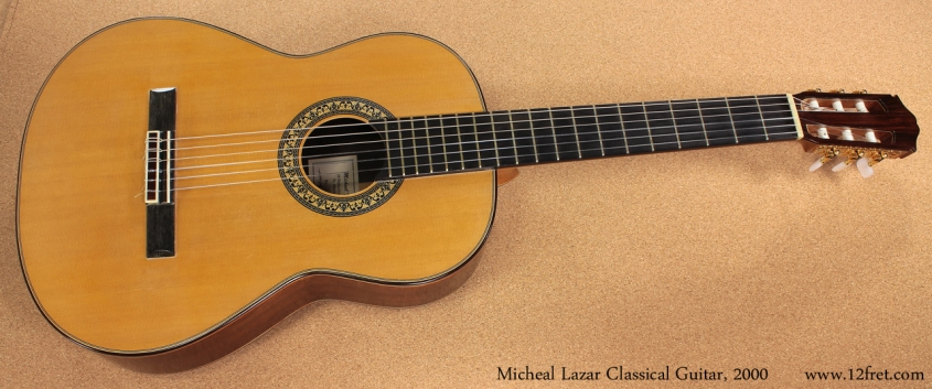 Michael F Lazar Classical 2000 full front view