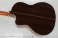 Linda Manzer Cutaway Steel String Guitar, 1980 Back