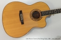 Linda Manzer Cutaway Steel String Guitar, 1980 Top
