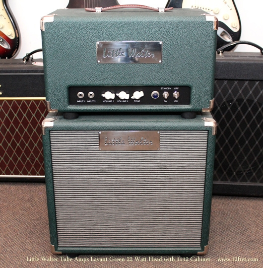 Little Walter 22 Watt Lavant Green Head with 112 Cabinet front view