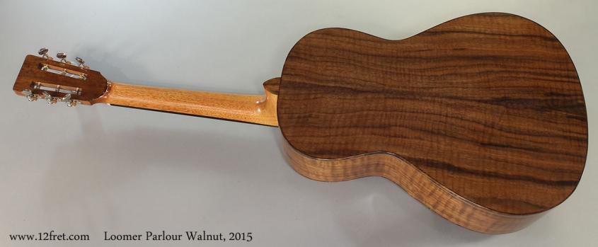 Loomer Parlour Walnut, 2015 Full Rear View