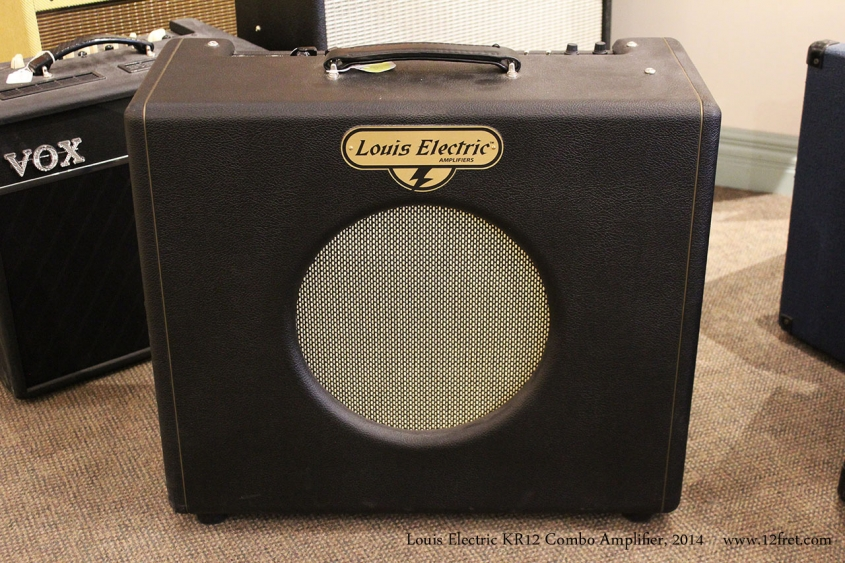 Louis Electric KR12 Combo Amplifier, 2014 Full Front View