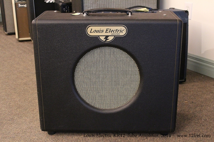 Louis Electric KR12 Tube Amplifier, 2014 Full Front View