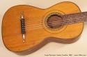 Louis Panormo Guitar 1838 top