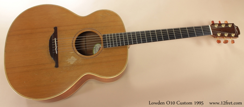Lowden O10 Custom 1995 full front view