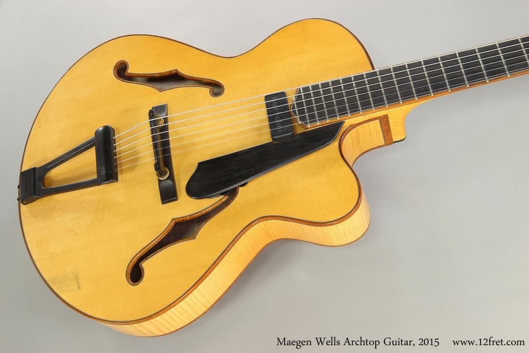 Maegen Wells Archtop Guitar, 2015  Top View
