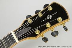 Maegen Wells Archtop Guitar, 2015  Head Front VIew