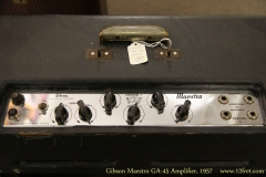 Gibson Maestro GA-45 Amplifier, 1957   Control Panel View