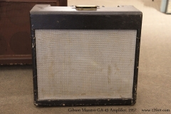 Gibson Maestro GA-45 Amplifier, 1957   Full Front View