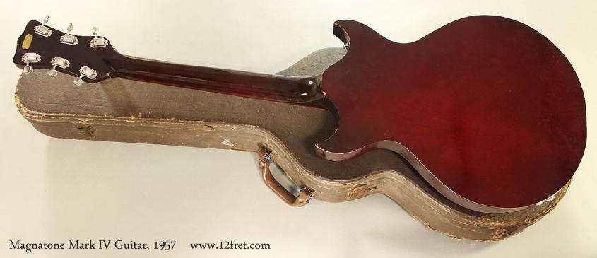 Magnatone Mark IV Guitar, 1957 Full Rear View