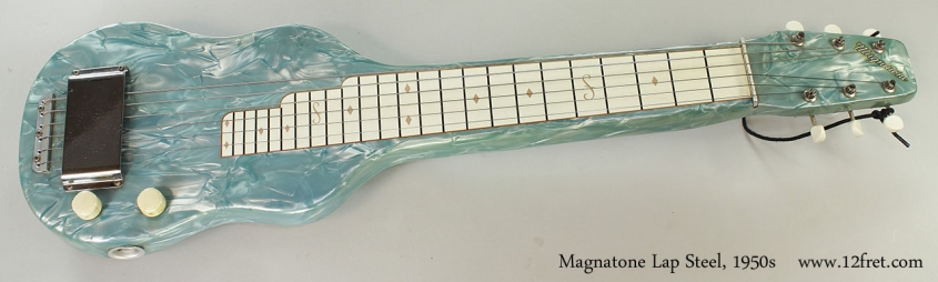 Magnatone Lap Steel, 1950s Full Front View