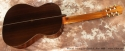 Manuel Velazquez Classical Guitar Ano 1969 full rear view