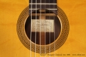 Manuel Velazquez Classical Guitar Ano 1969 label