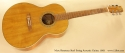 Marc Beneteau Steel String Acoustic 1993 full front view