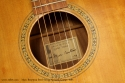 Marc Beneteau Steel String Acoustic 1993 label