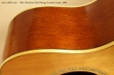Marc Beneteau Steel String Acoustic 1993 side repair