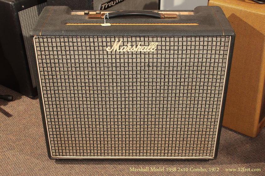 Marshall Model 1958 2x10 Combo 1972 full front view