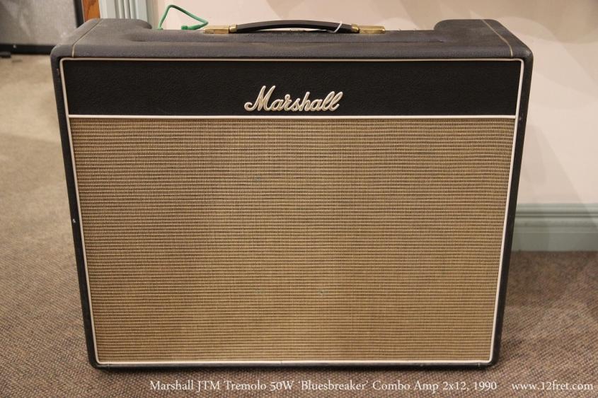 Marshall JTM Tremolo 50W 'Bluesbreaker' Combo Amp 2x12, 1990  Full Front View