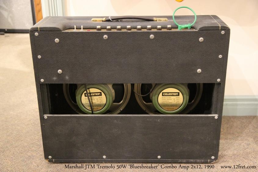 Marshall JTM Tremolo 50W 'Bluesbreaker' Combo Amp 2x12, 1990  Full Rear View