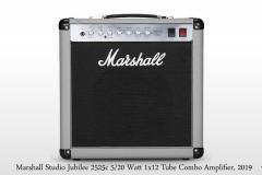 Marshall Silver Jubilee Studio 2525c 5/20 Watt 1x12 Tube Combo Amplifier Full Front View