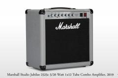 Marshall Silver Jubilee Studio 2525c 5/20 Watt 1x12 Tube Combo Amplifier Oblique Right View