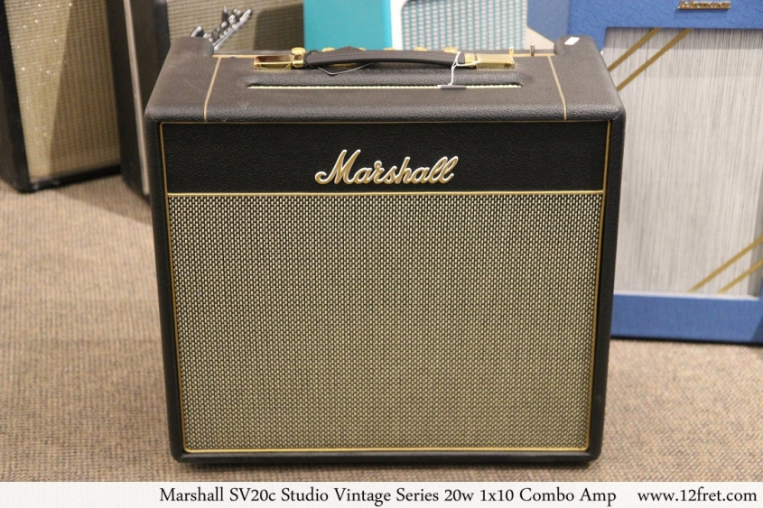 Marshall SV20c Studio Vintage Series 20w 1x10 Combo Amp Full Front View