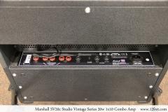 Marshall SV20c Studio Vintage Series 20w 1x10 Combo Amp Back Panel View