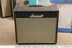 Marshall SV20c Studio Vintage Series 20w 1x10 Combo Amp Full Front View