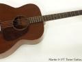 Martin 0-17T Tenor Guitar 1945 full front view