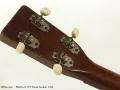 Martin 0-17T Tenor Guitar 1945 head rear view