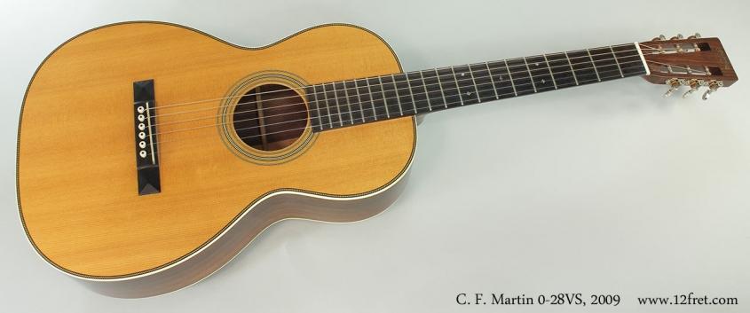 C. F. Martin 0-28VS, 2009 Full Front View