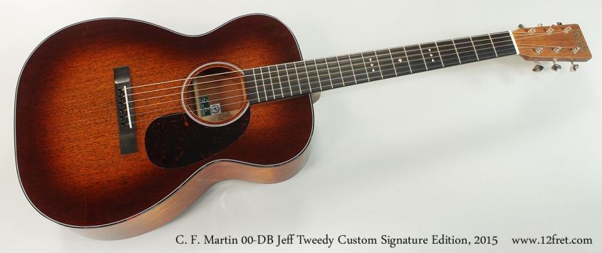C. F. Martin 00-DB Jeff Tweedy Custom Signature Edition, 2015 Full Front View