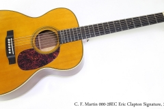 C. F. Martin 000-28EC Eric Clapton Signature, 2006  Full Front View