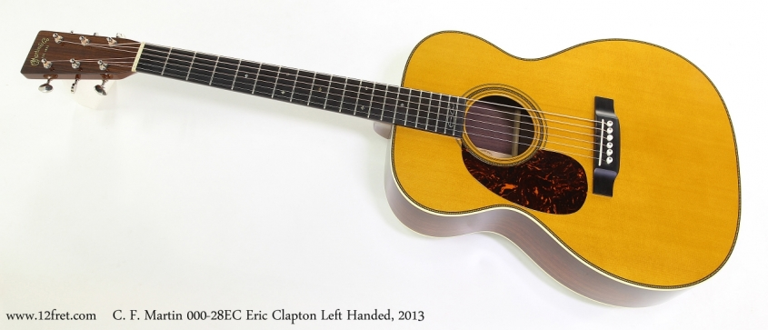 C. F. Martin 000-28EC Eric Clapton Left Handed, 2013  Full Front View