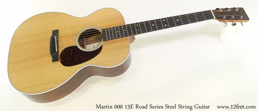Martin 000 13E Road Series Steel String Guitar Full Front View