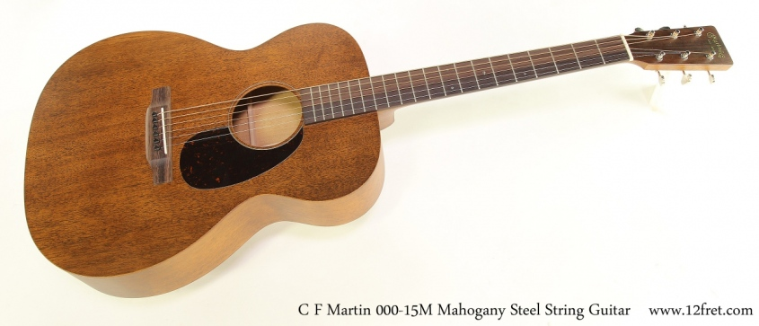 C F Martin 000-15M Mahogany Steel String Guitar Full Front View
